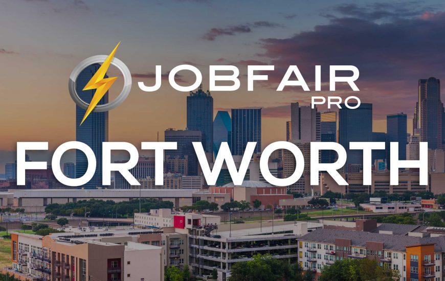 fort worth virtual job fairs