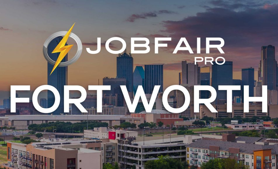 fort worth virtual job fairs